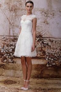 Monique Lhuillier Fall Bridal 2014