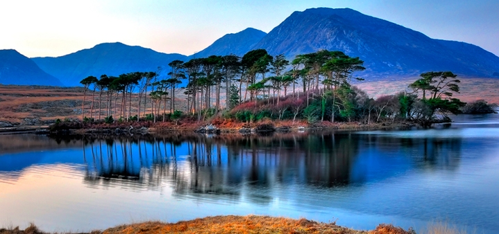derryclare_evening_robert_riddell