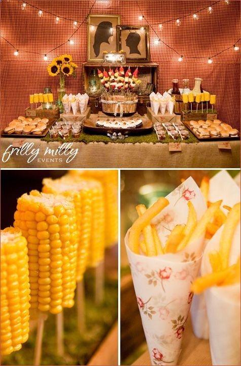 wedding bbq food ideas