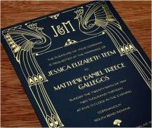 Great Gatsby Invitation