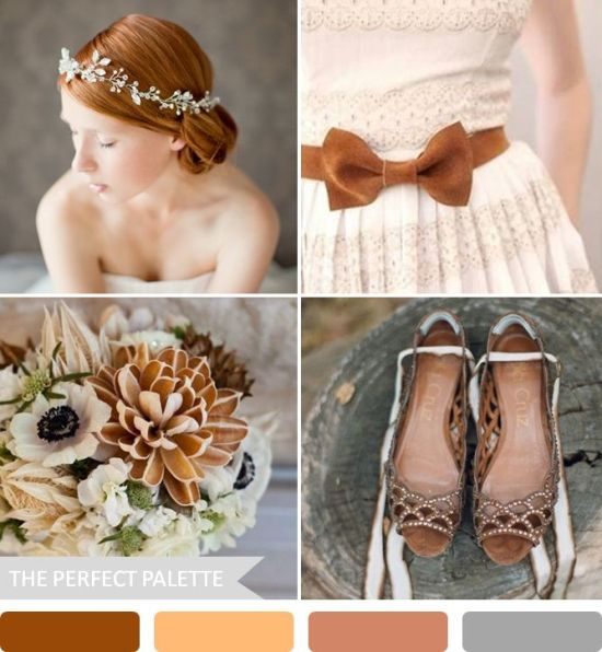 Autumn Bride Floral Crown