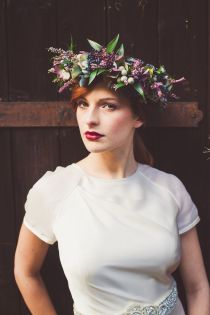 Bride Floral Crown