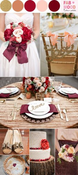 Fall Wedding Inspiration Colours