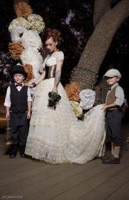 Steampunk wedding style