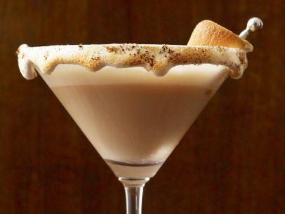 Smores martini wedding cocktail