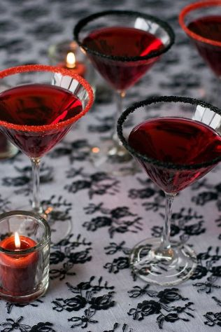 Halloween wedding ideas dracula cocktail