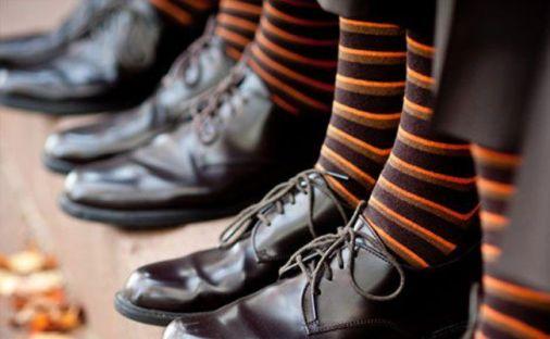 Groom Halloween socks