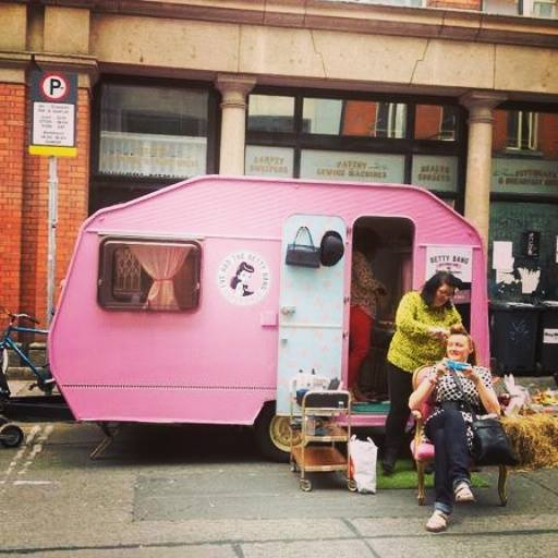 Betty Bang Ireland vintage styling hen parties