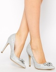 New Look Scramble High Heel bridal look