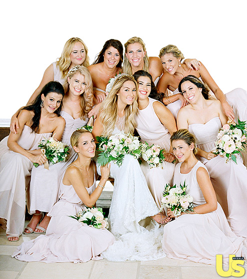 Lauren Conrad wedding bridesmaids