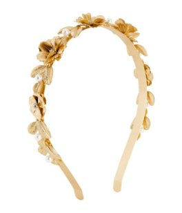 H&M Alice band wedding hair accessories