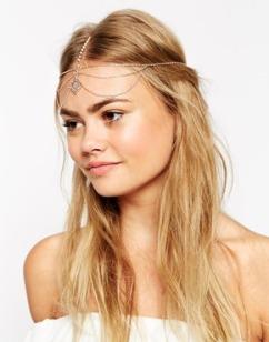 Asos.com double filligree headband wedding accessories