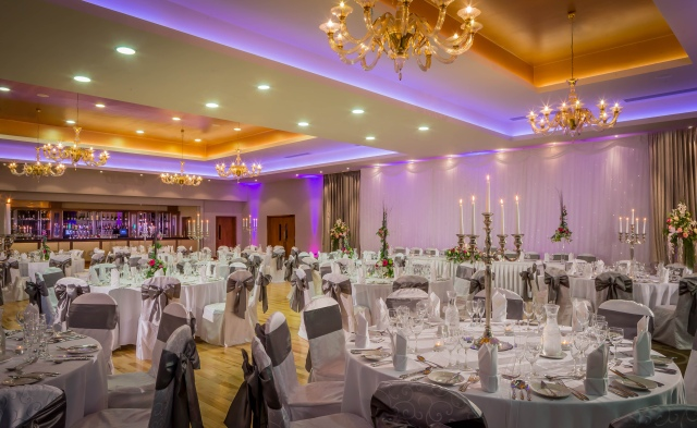 Loughrea Hotel & Spa wedding de dannan suite ballroom