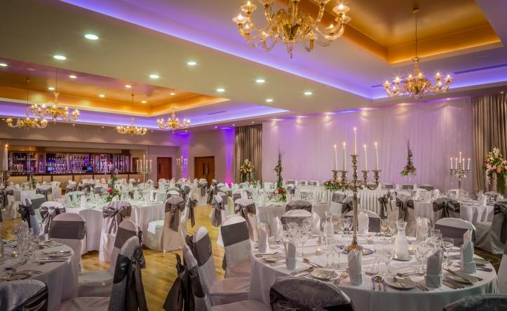 Loughrea Hotel & Spa wedding de dannan suite ballroom