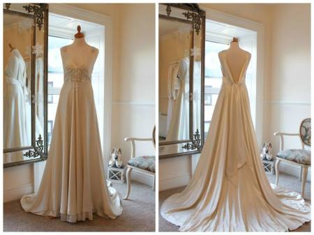 Vintage Pearl Bridal Galway Michelle Burke Jenny Packham