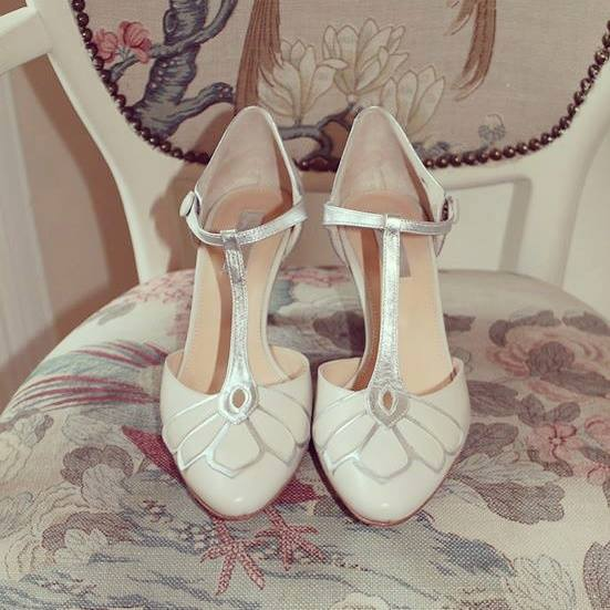 Vintage Pearl Bridal Galway Michelle Burke Rachel Simpson bridal shoes