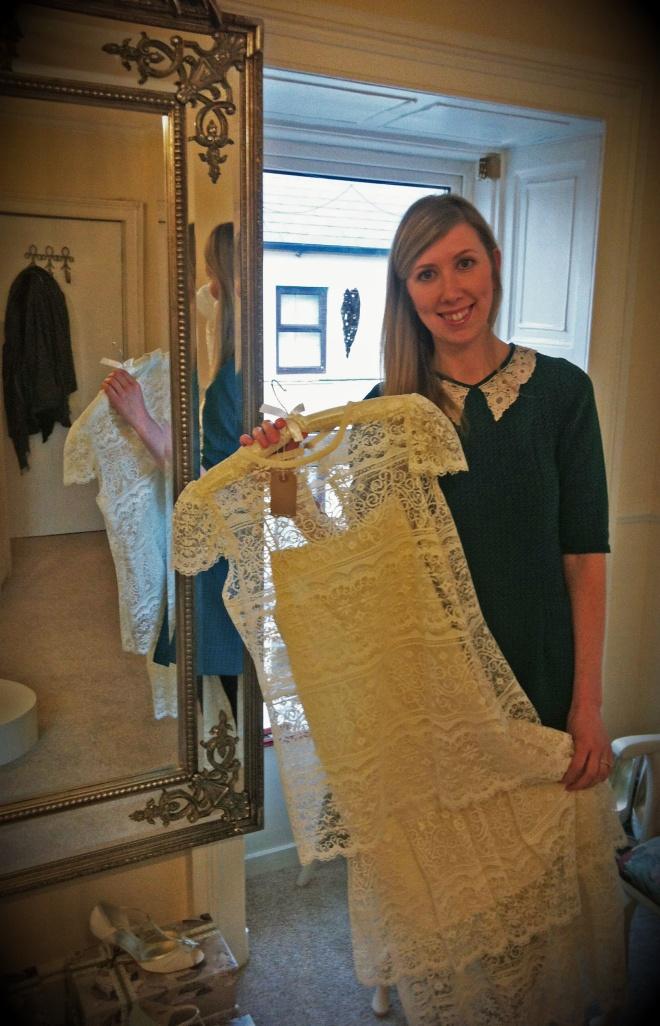 Vintage Pearl Bridal Galway Michelle Burke