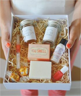 Bridesmaid gift ideas from True Romance Weddings