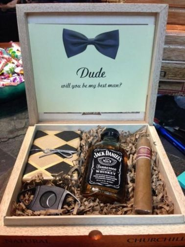 Groomsmen gift ideas from True Romance Weddings