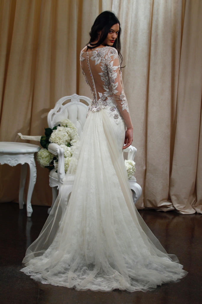 Badgley Mischka Bridal Spring 2016