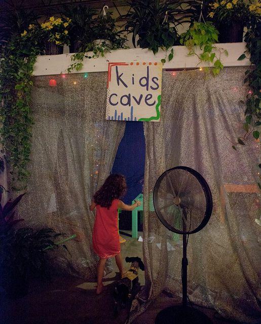 Kids ideas for wedding kids cave