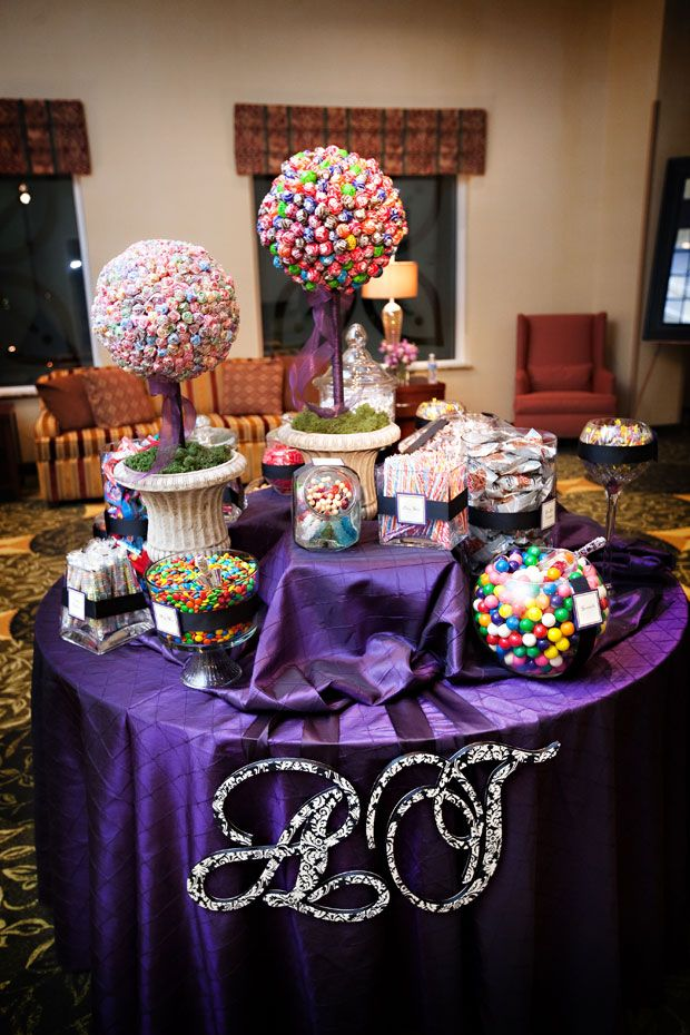 Kids ideas for wedding candy buffet table