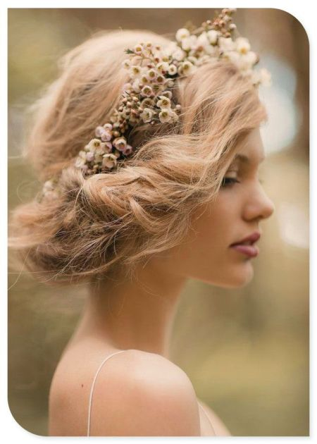 Romantic wedding hair looks irish wedding blog