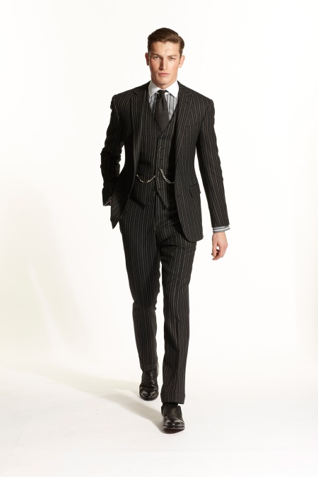 Ralph Lauren Fall 2015 menswear groom trends traditional