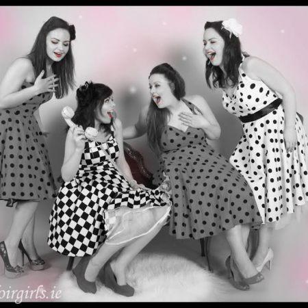 Hen party planning ireland boudoir girls themed photoshoot