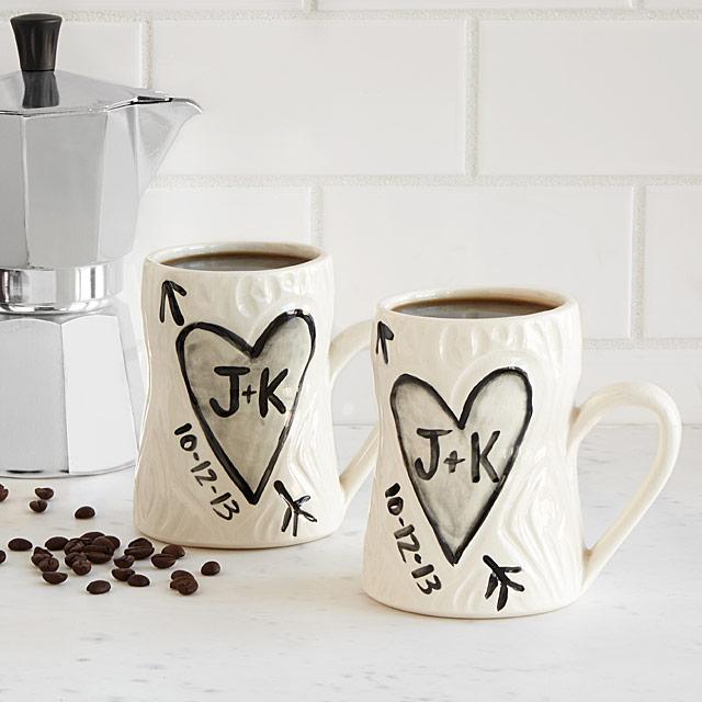 uncommon goods personalized mugs wedding gift