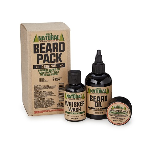 uncommon goods groomsman gift beard pack