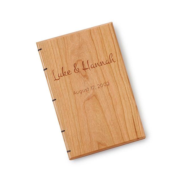 uncommon goods heirloom wedding guestbook wedding gift