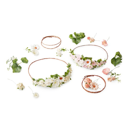 uncommon goods flower crown bridesmaid gift